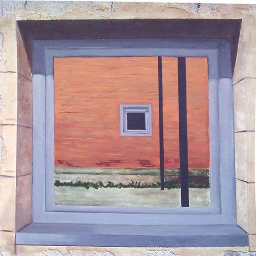 <strong>Falsa Finestre:</strong></br>Treball de curs de Pintura Mural 2009